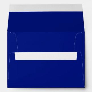 Only cool dark blue elegant solid OSCB33 Envelopes