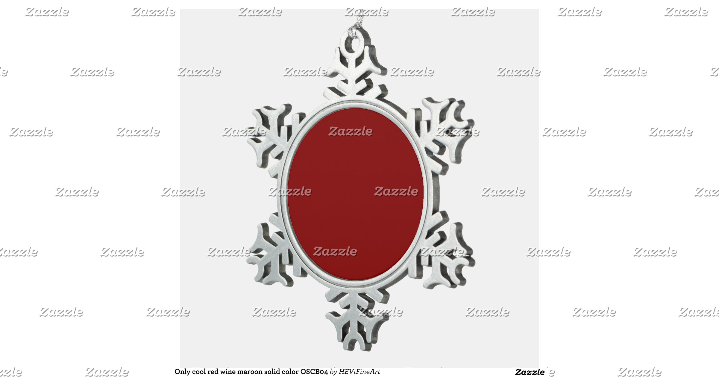 Only cool red wine maroon solid color background snowflake