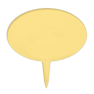 Only cream deep gorgeous solid color OSCB19 Cake Topper