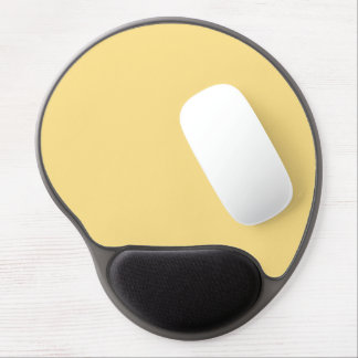 Only cream deep gorgeous solid OSCB19 background Gel Mouse Pad
