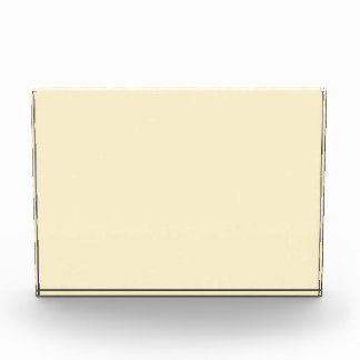 Only cream pale elegant solid color OSCB44 Acrylic Award
