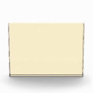 Only cream pale pretty horizontal acrylic award