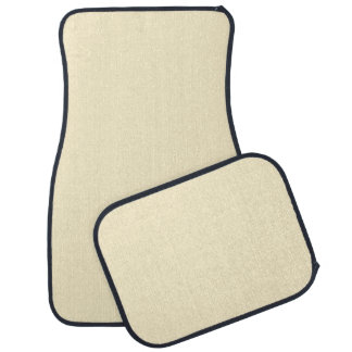 Only cream pale pretty solid color OSCB44 Car Mat