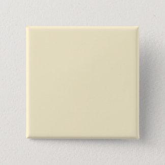 Only cream pale pretty solid color OSCB44 Pinback Button