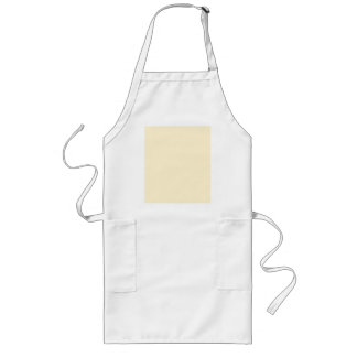 Only Cream pale solid color Aprons