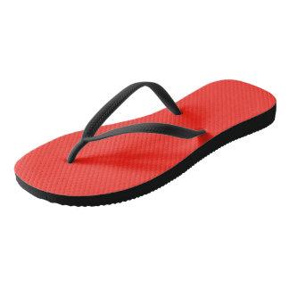 Only crimson red cool solid color OSCB35 Flip Flops