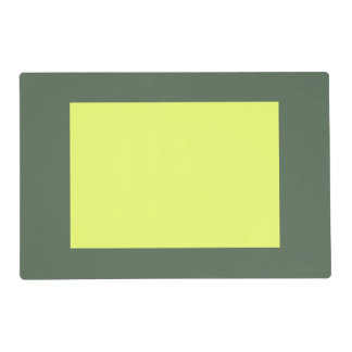 Only cypress green gorgeous lime panel  OSCB23 Placemat