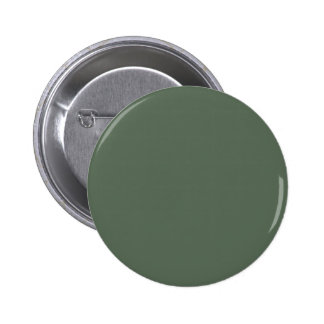 Only cypress green gorgeous solid color background 2 inch round button