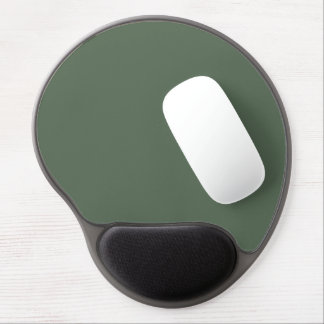 Only cypress green gorgeous solid color background gel mouse pad