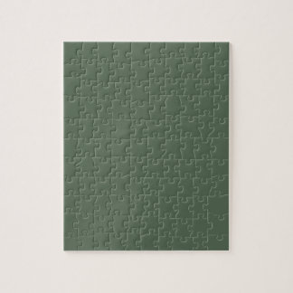 Only cypress green gorgeous solid color background jigsaw puzzle