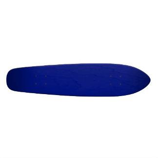 Only dark blue elegant solid color OSCB33 Skateboard Deck