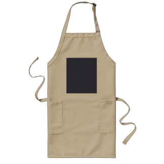 Only dark blue gray gorgeous solid color OSCB45 Long Apron