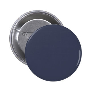 Only dark blue gray livid solid color background pinback button
