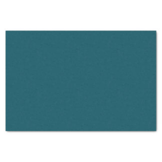 """Only dark teal blue coral solid color OSCB30 10"""" X 15"""" Tissue Paper"""