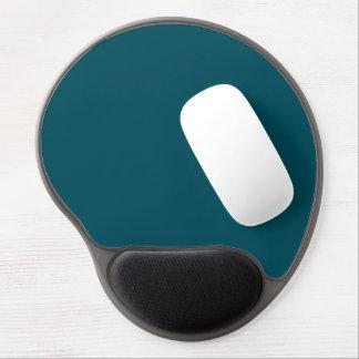 Only dark teal blue elegant solid color OSCB30 Gel Mouse Pad