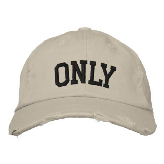 Only Embroidered Hat Embroidered Hats