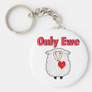 Only Ewe Keychain