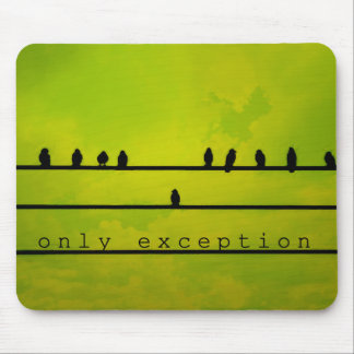 Only Exception Mouse Pad