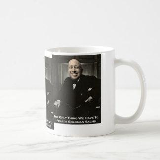 Only Fear Goldman Sachs Coffee Mug