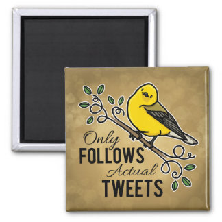 Only Follows Actual Tweets Magnet