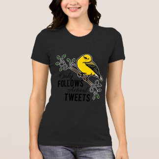 Only Follows Actual Tweets T-Shirt