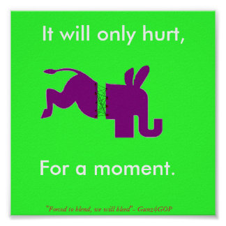 Only for a moment, It will only hurt,, For a mo... Poster
