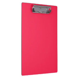 Only fuchsia pink pretty solid color background clipboard