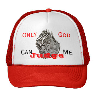 Only God Can Judge Me Mesh Hats