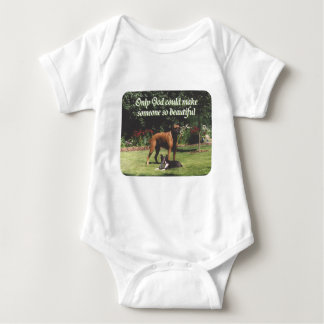 Only God could make someone so beautiful Baby Bodysuit