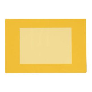 Only gold cool solid color panel OSCB28 Placemat