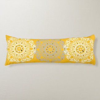 Only gold stylish lace silhouette custom pillows