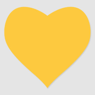 Only gold stylish solid color OSCB28 Heart Sticker