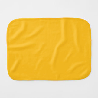 Only gold stylish solid color OSCB28 Burp Cloths