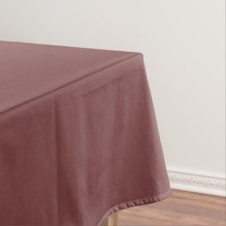 Only gorgeous warm burgundy solid color background tablecloth