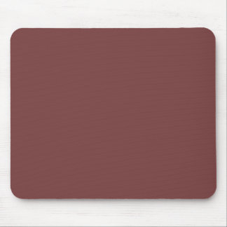Only gorgeous warm burgundy solid color OSCB21 Mouse Pad