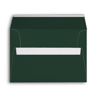 Only green forest gorgeous solid color background envelope