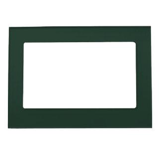 Only green forest vintage solid color OSCB29 Picture Frame Magnet