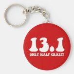 only half crazy keychains