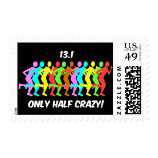 only half crazy postage