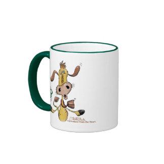 Only Half the CALFfeine Coffee Mugs