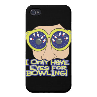only have eyes for BOWLING iPhone 4 Cover