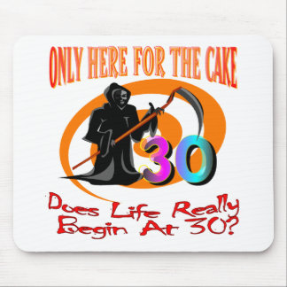 Only Here For The Cake Mouse Pad