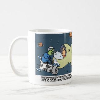 only human coffee mug