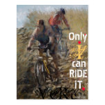 Only i can RIDE it Postcard