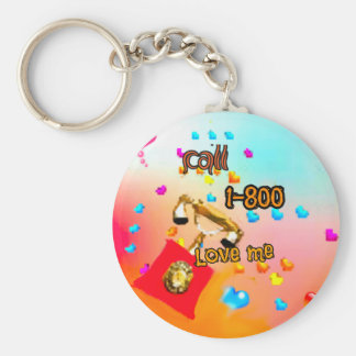 Only I want to say you love me Keychain
