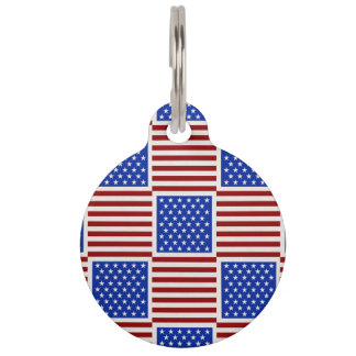Only in America Pet ID Tag