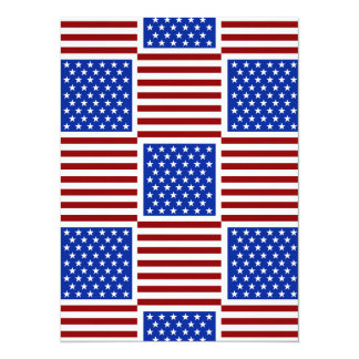 Only in America 5.5x7.5 Paper Invitation Card