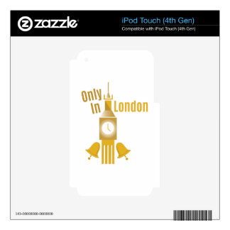 Only In London Skin For iPod Touch 4G