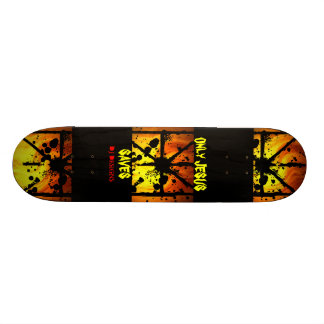 Only Jesus Saves Skateboard