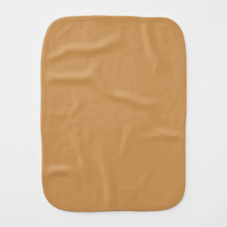 Only khaki tan classic solid color baby burp cloth